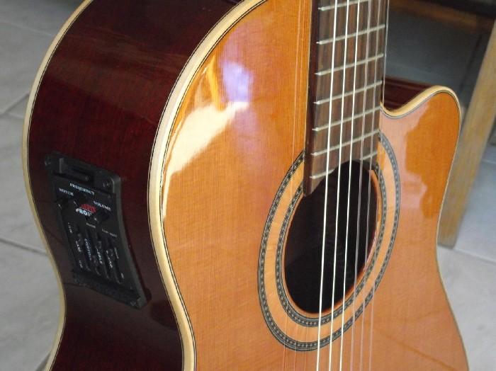 guitare lectro classique alhambra cs1 cw e2 vendre. Black Bedroom Furniture Sets. Home Design Ideas