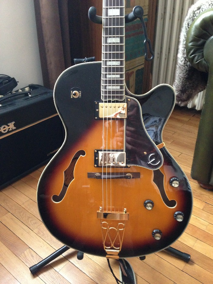 guitare lectrique hollow body epiphone emperor joe pass ii vendre. Black Bedroom Furniture Sets. Home Design Ideas