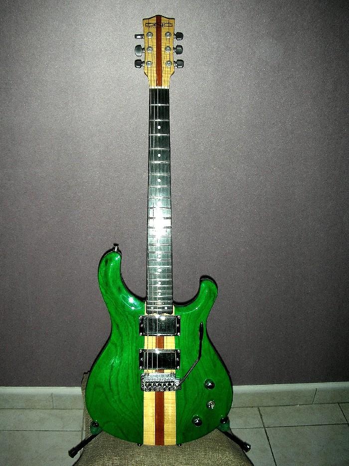 Guitare électrique solid body DNG modèle unique à vendre