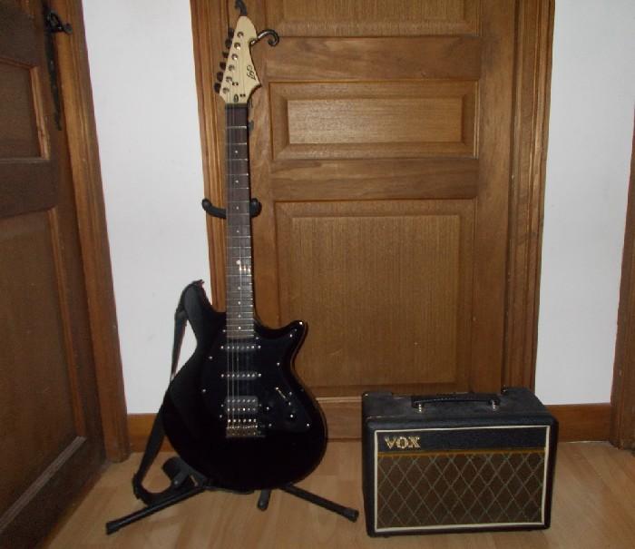 guitare electrique lag jet 66