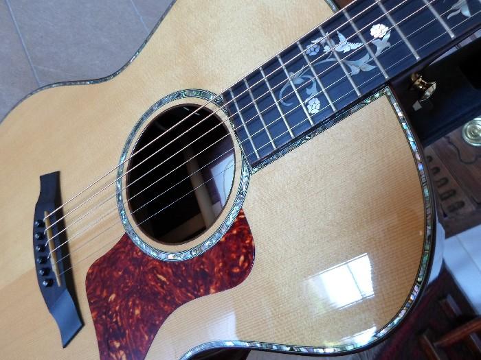 guitare acoustique taylor usagee a vendre