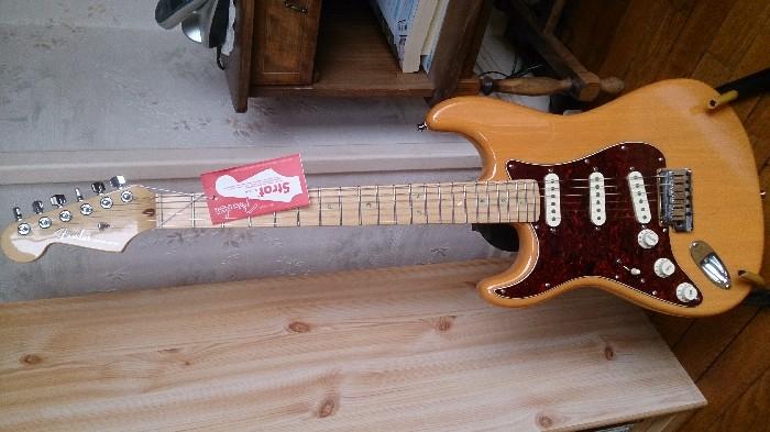 guitare electrique fender gaucher