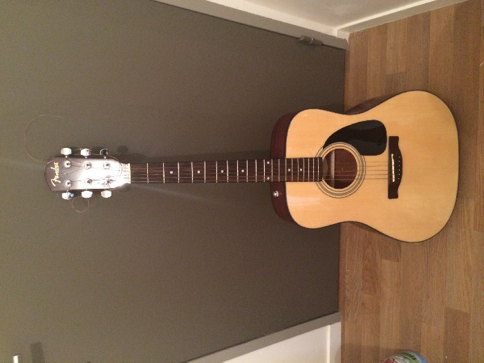 guitare classique fender cd 60 vendre. Black Bedroom Furniture Sets. Home Design Ideas