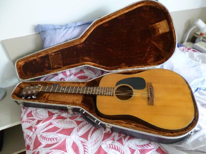 guitare folk acoustique martin d18 vendre. Black Bedroom Furniture Sets. Home Design Ideas