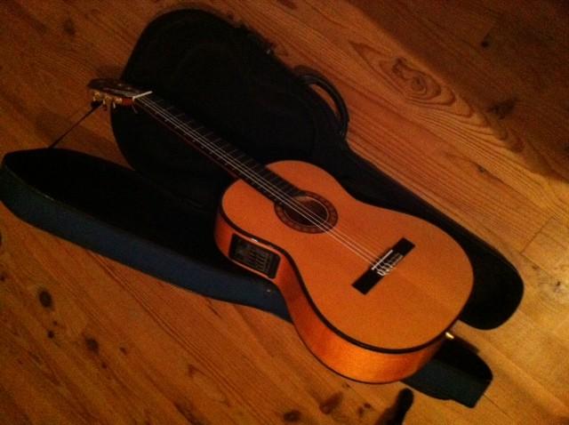 guitare lectro classique alhambra 10 fc e5 vendre. Black Bedroom Furniture Sets. Home Design Ideas
