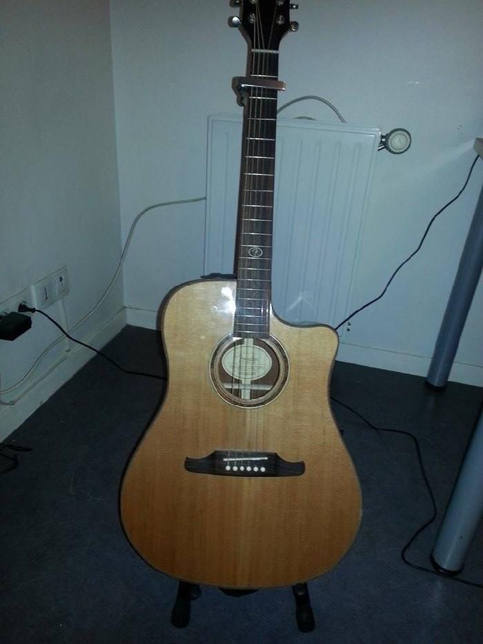 elektro akoestische folk gitaar fender te koop. Black Bedroom Furniture Sets. Home Design Ideas