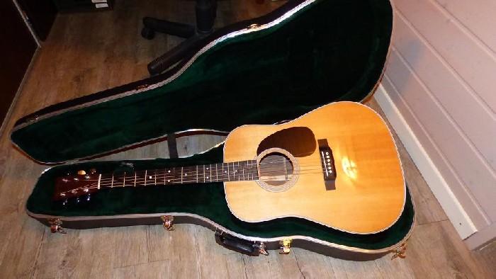 guitare folk lectro acoustique martin d 28 vendre. Black Bedroom Furniture Sets. Home Design Ideas