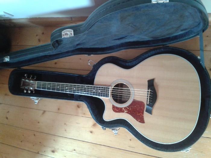 guitare acoustique usage gauchere a vendre