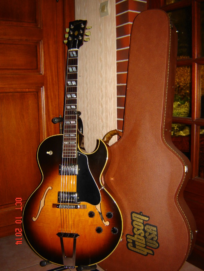 electric guitar hollow body gibson es 175 vs nh1 for sale. Black Bedroom Furniture Sets. Home Design Ideas