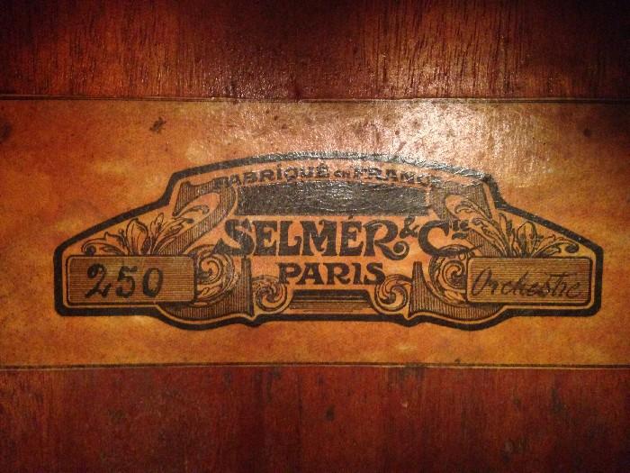 Guitare classique SELMER N°250 à vendre