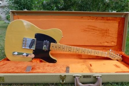 guitare lectrique hollow body fender telecaster vendre. Black Bedroom Furniture Sets. Home Design Ideas