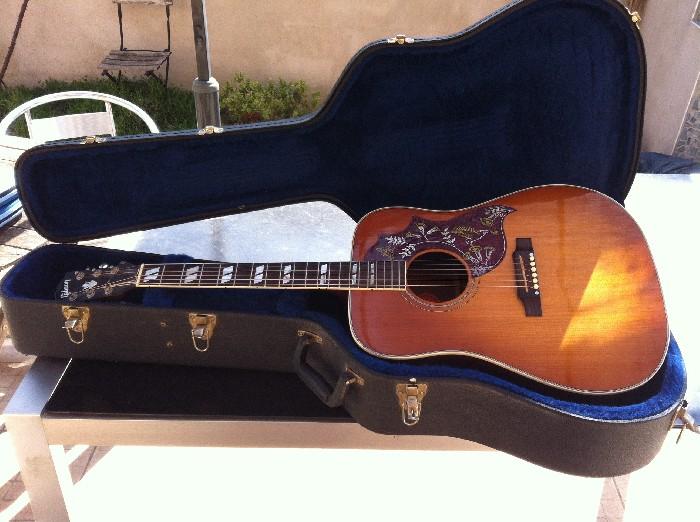 guitare folk lectro acoustique gibson hummingbird vendre. Black Bedroom Furniture Sets. Home Design Ideas