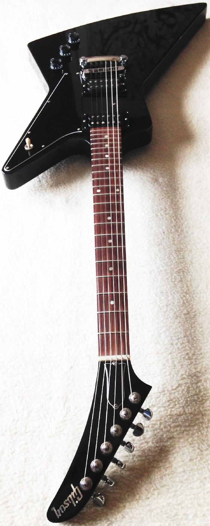 Guitare électrique solid body Gibson explorer à vendre