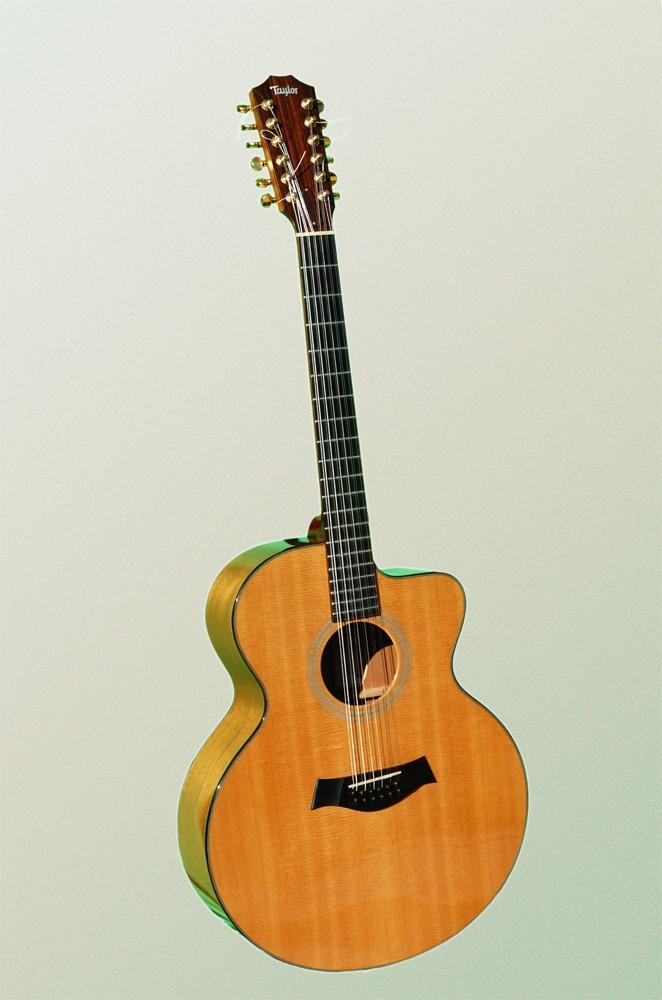 guitare folk acoustique taylor 12 cordes lksm vendre. Black Bedroom Furniture Sets. Home Design Ideas