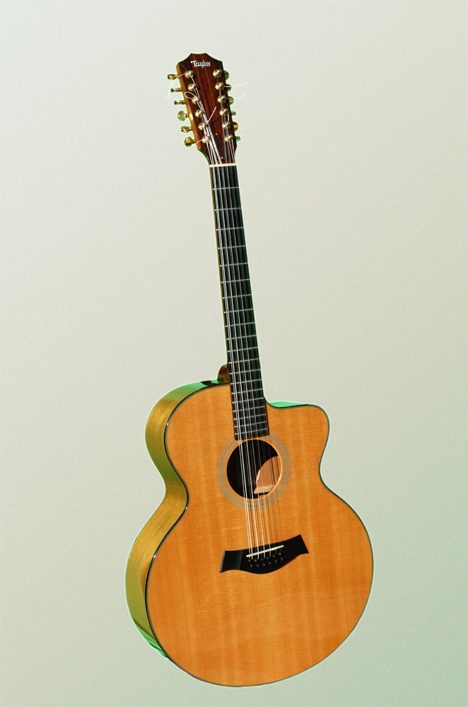 Guitare Folk Acoustique Taylor 12 Cordes Lksm 224 Vendre