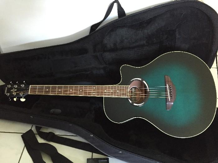 elektro akustische gitarre yamaha apx500ii zu verkaufen. Black Bedroom Furniture Sets. Home Design Ideas