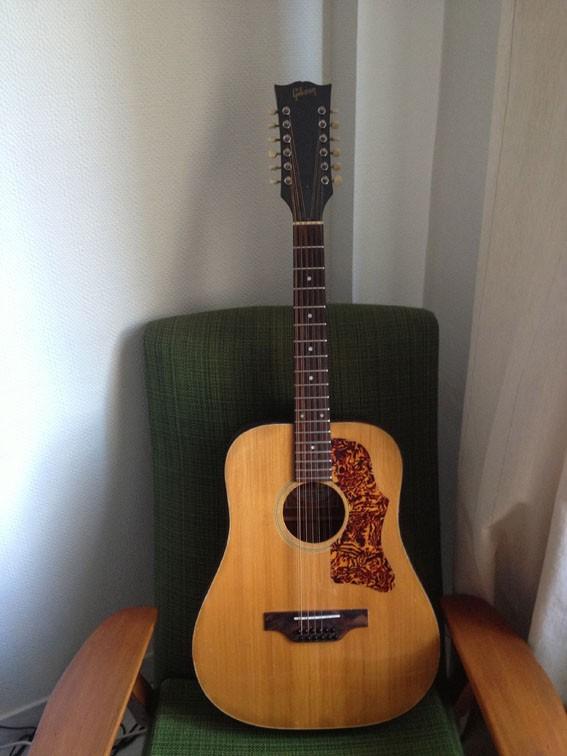 guitare acoustique 12 cordes gibson