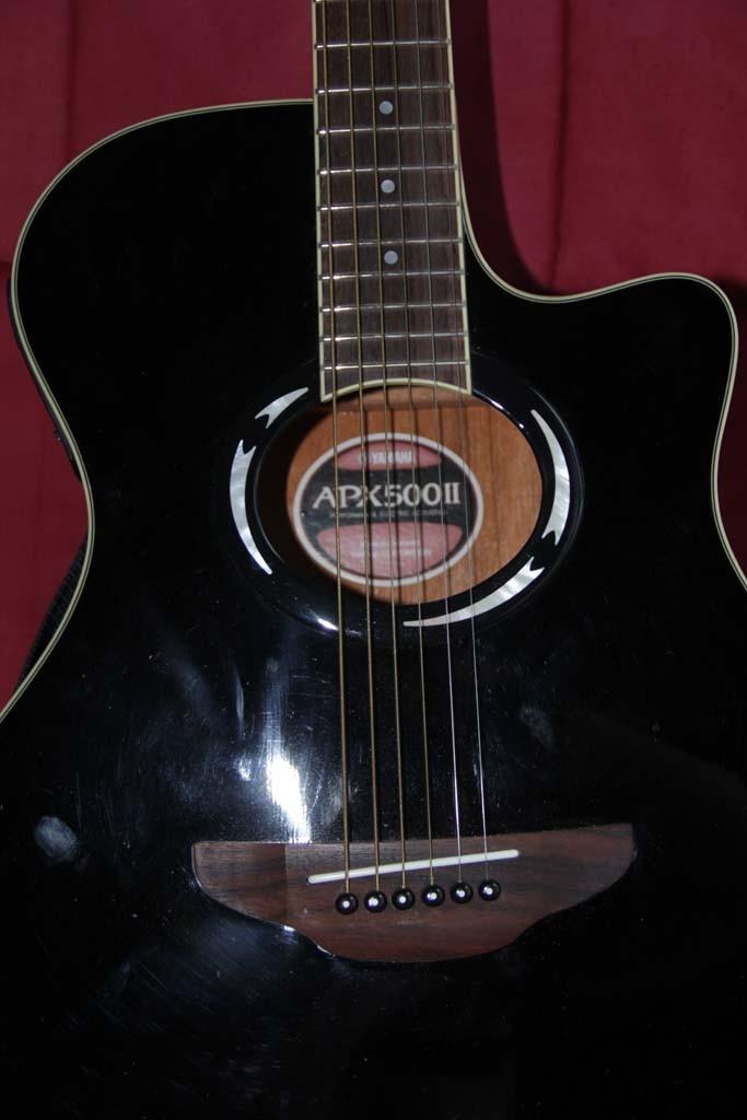 guitare folk lectro acoustique yamaha apx 500ii vendre. Black Bedroom Furniture Sets. Home Design Ideas