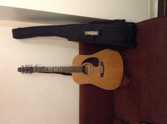 guitare folk acoustique seagull s6 cedar original vendre. Black Bedroom Furniture Sets. Home Design Ideas