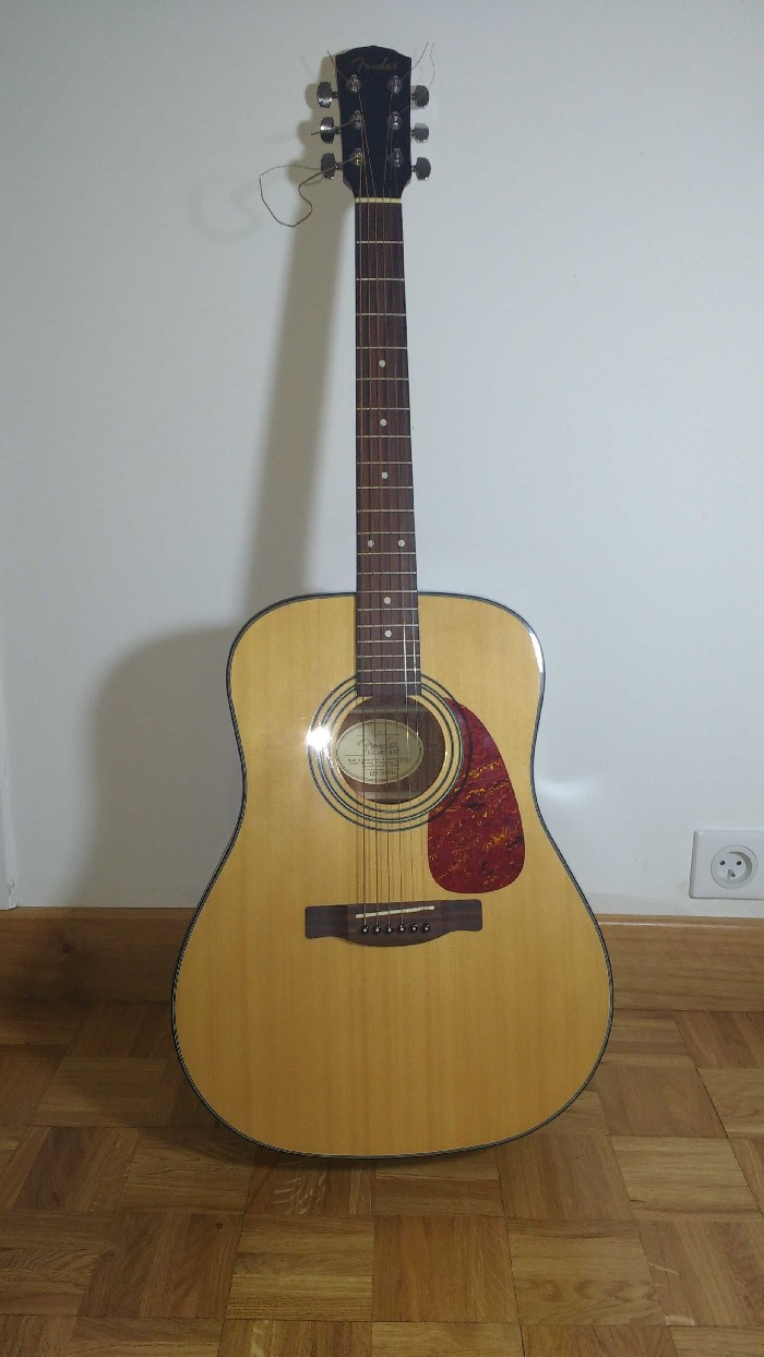 guitare folk acoustique fender fender cd140s vendre. Black Bedroom Furniture Sets. Home Design Ideas
