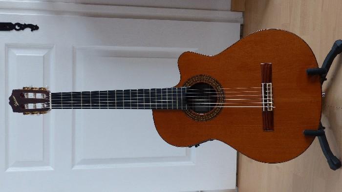 guitare classique pan coupe