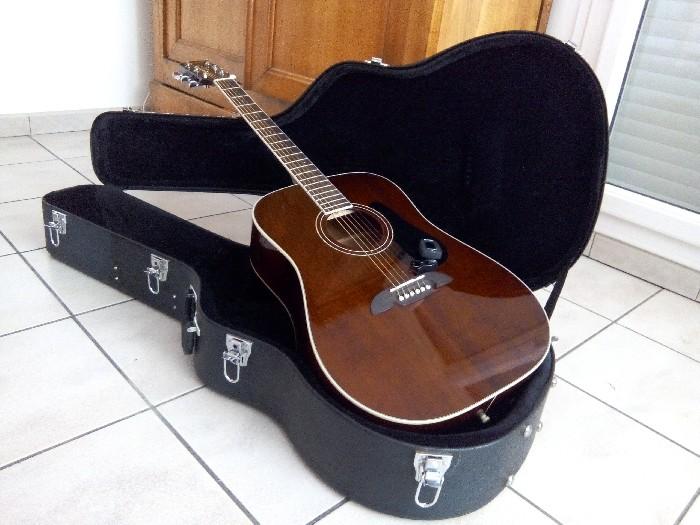 guitare folk acoustique alvarez rd16 br dreadnought vendre. Black Bedroom Furniture Sets. Home Design Ideas