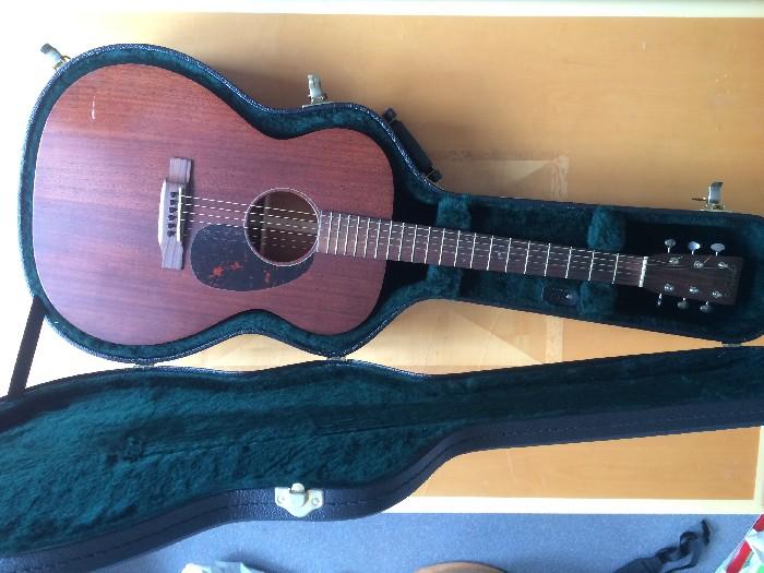acoustic guitar martin 00015m for sale. Black Bedroom Furniture Sets. Home Design Ideas