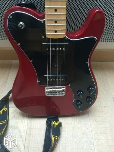 guitare lectrique solid body fender teledlx micro p90. Black Bedroom Furniture Sets. Home Design Ideas