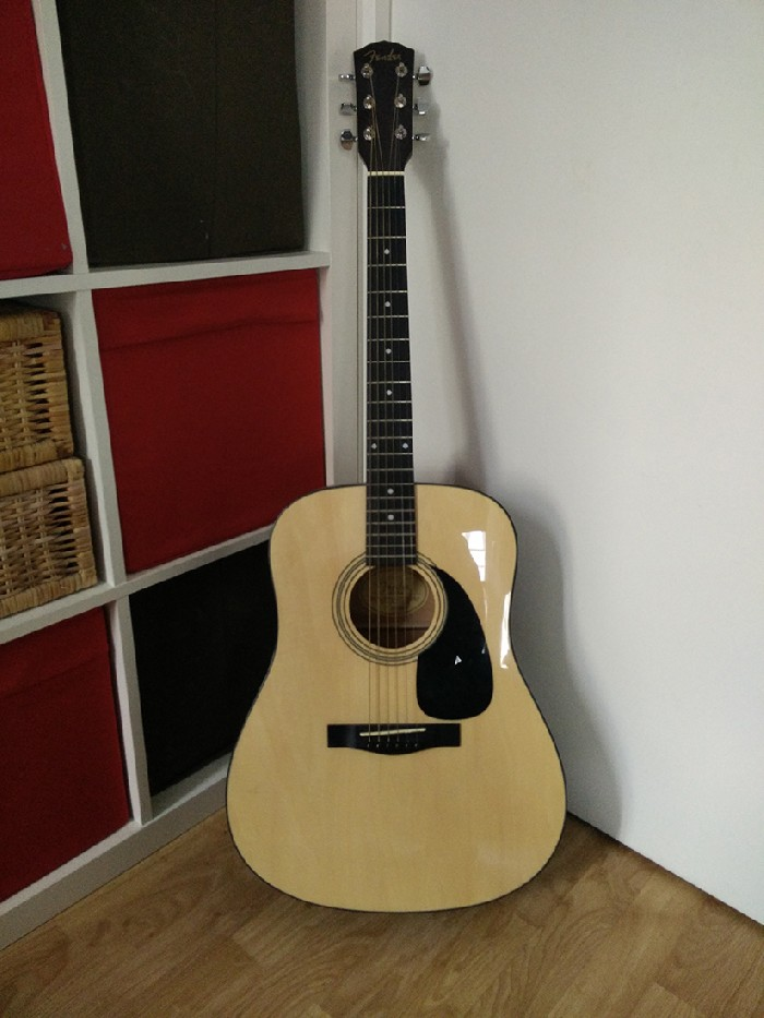 guitare folk acoustique fender dg5 nat vendre. Black Bedroom Furniture Sets. Home Design Ideas