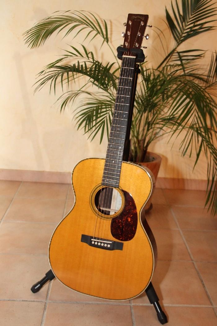 guitare folk acoustique martin 00028 ec eric clapton vendre. Black Bedroom Furniture Sets. Home Design Ideas