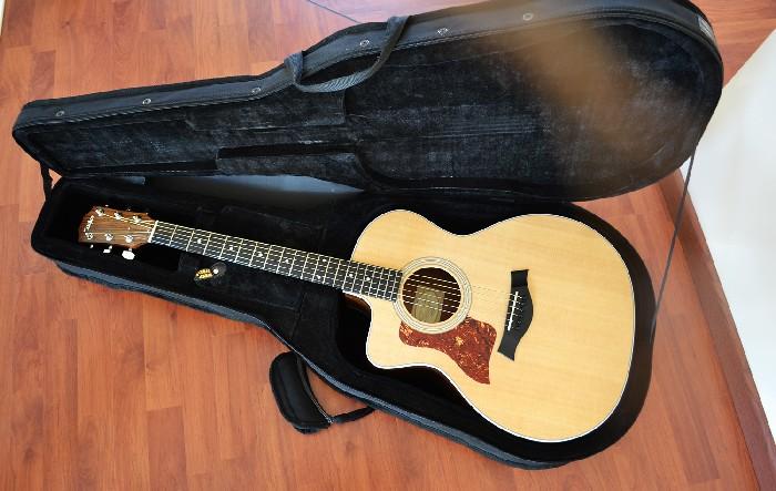 guitare folk lectro acoustique taylor 214ce vendre. Black Bedroom Furniture Sets. Home Design Ideas