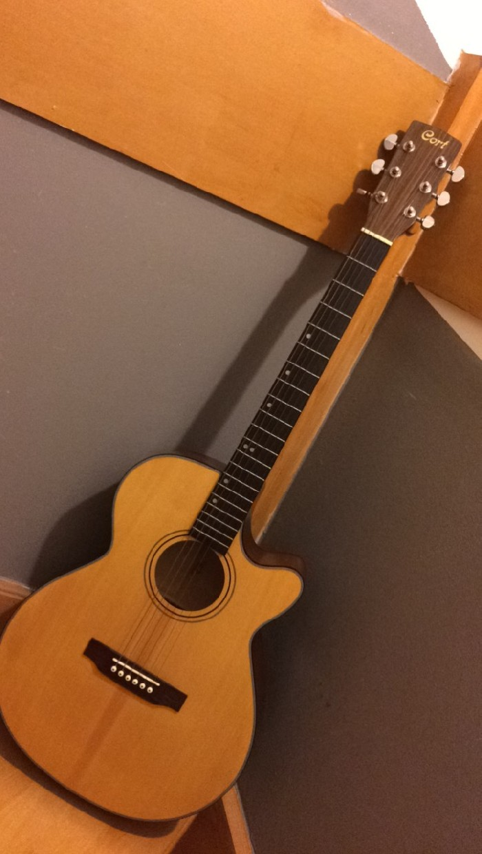 elektro klassieke gitaar cort te koop. Black Bedroom Furniture Sets. Home Design Ideas