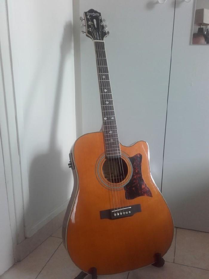 electro acoustic guitar epiphone dr 500mce for sale. Black Bedroom Furniture Sets. Home Design Ideas