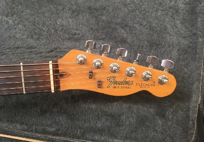 guitare classique fender telecaster custom vendre. Black Bedroom Furniture Sets. Home Design Ideas