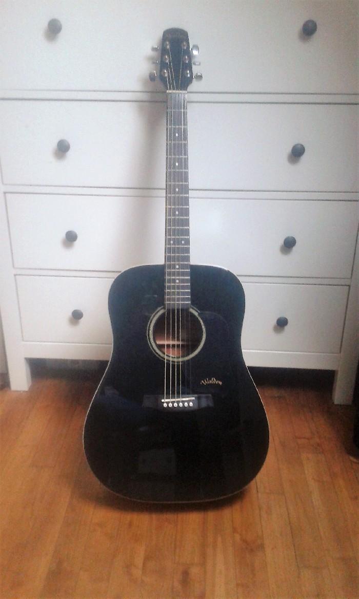 Guitare folk acoustique Walden D350b à vendre