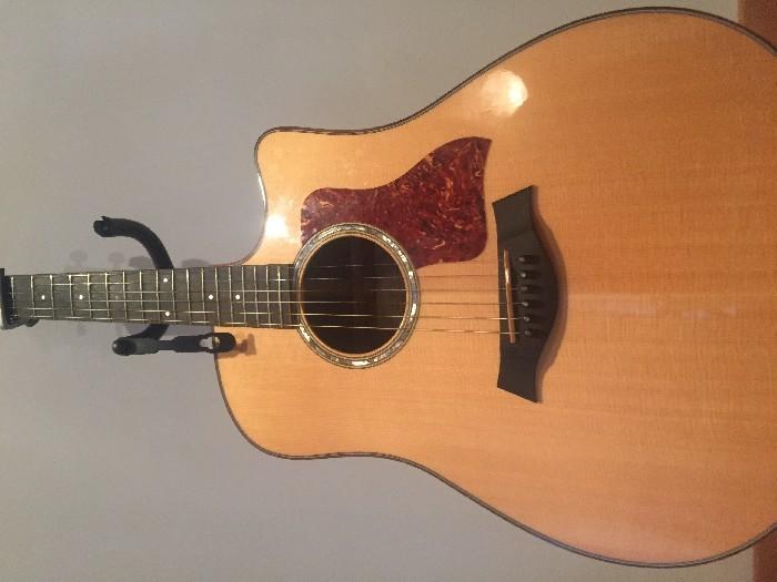 guitare folk lectro acoustique taylor 510ce vendre. Black Bedroom Furniture Sets. Home Design Ideas
