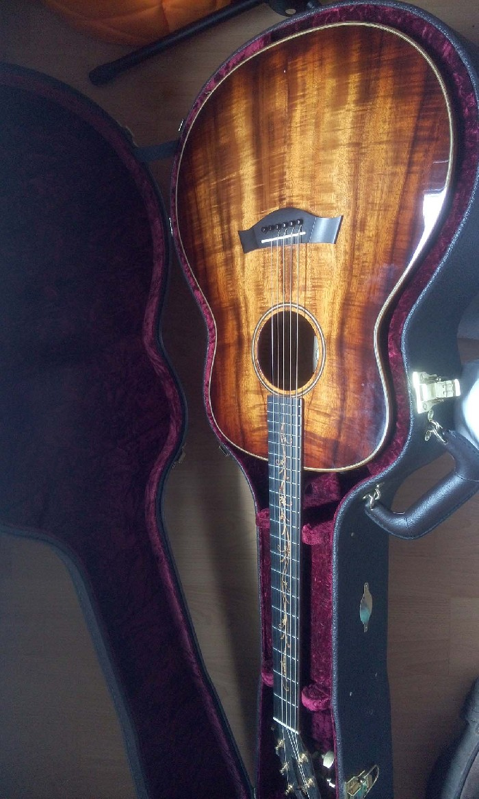 guitare folk lectro acoustique taylor k28e vendre. Black Bedroom Furniture Sets. Home Design Ideas
