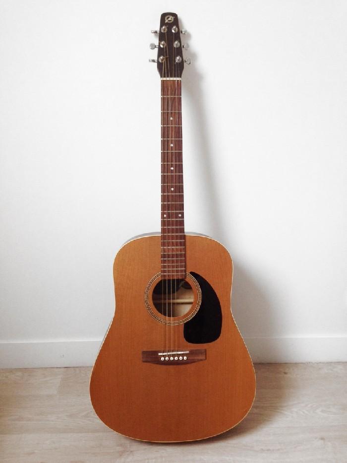 guitare folk acoustique seagull s6 cedar vendre. Black Bedroom Furniture Sets. Home Design Ideas