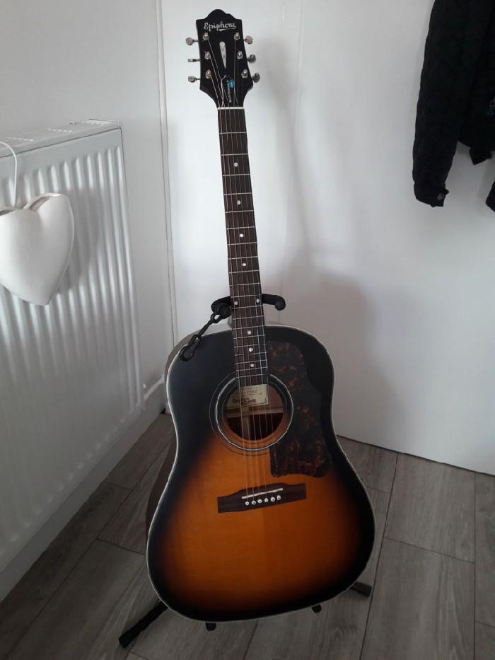 electro acoustic guitar epiphone masterbilt aj 45 me for sale. Black Bedroom Furniture Sets. Home Design Ideas