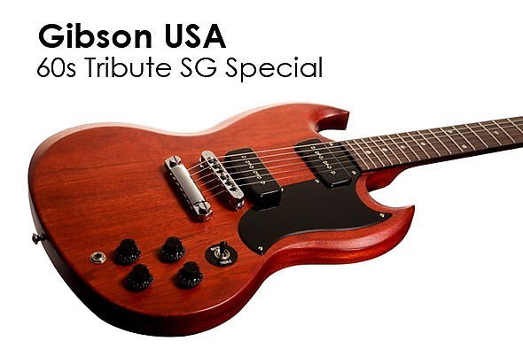 guitare lectrique solid body gibson sg special 60 39 s tribute vendre. Black Bedroom Furniture Sets. Home Design Ideas