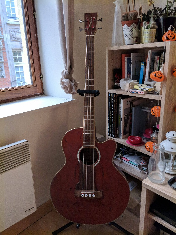 Electro Acoustic Bass Tanglewood Tab1 Ce Xb For Sale