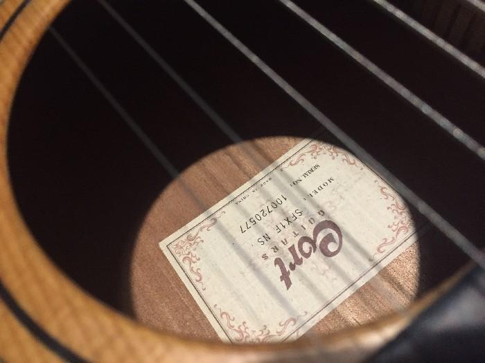 elektro akustische gitarre cort sfx1f ns zu verkaufen. Black Bedroom Furniture Sets. Home Design Ideas