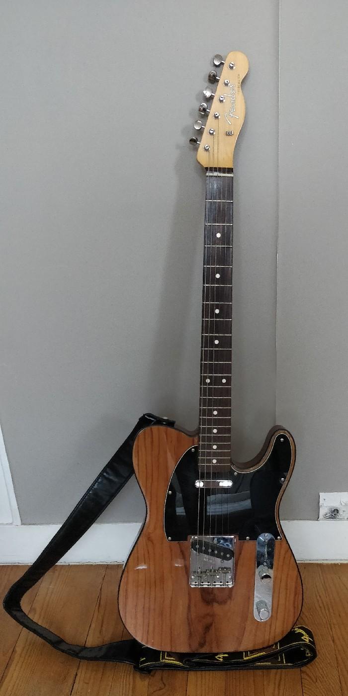Guitare électrique solid body Fender Telecaster Edition ...