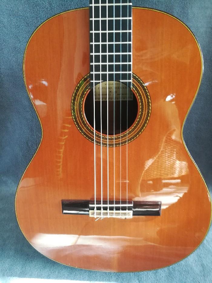 guitare classique paulino bernab m10 vendre. Black Bedroom Furniture Sets. Home Design Ideas